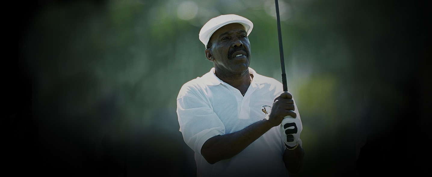 Pete Brown and Calvin Peete