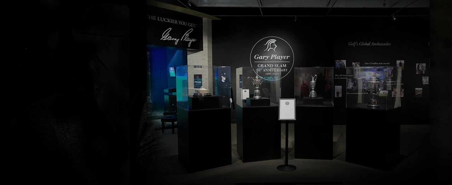 Celebrating Gary Player's Career Grand Slam