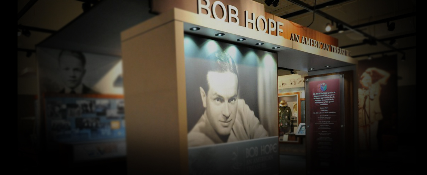 The Bob Hope traveling exhibition has opened at its latest stop: the Queen Mary in Long Beach, Calif.
