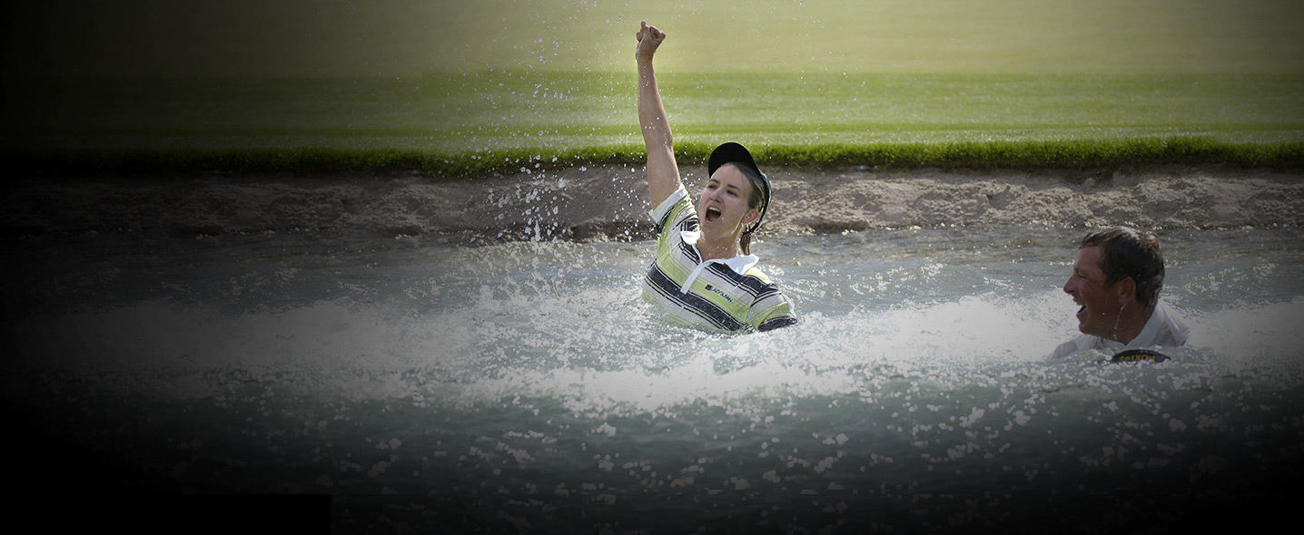 of Poppie's Pond at the ANA Inspiration