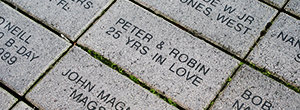 Personalized bricks