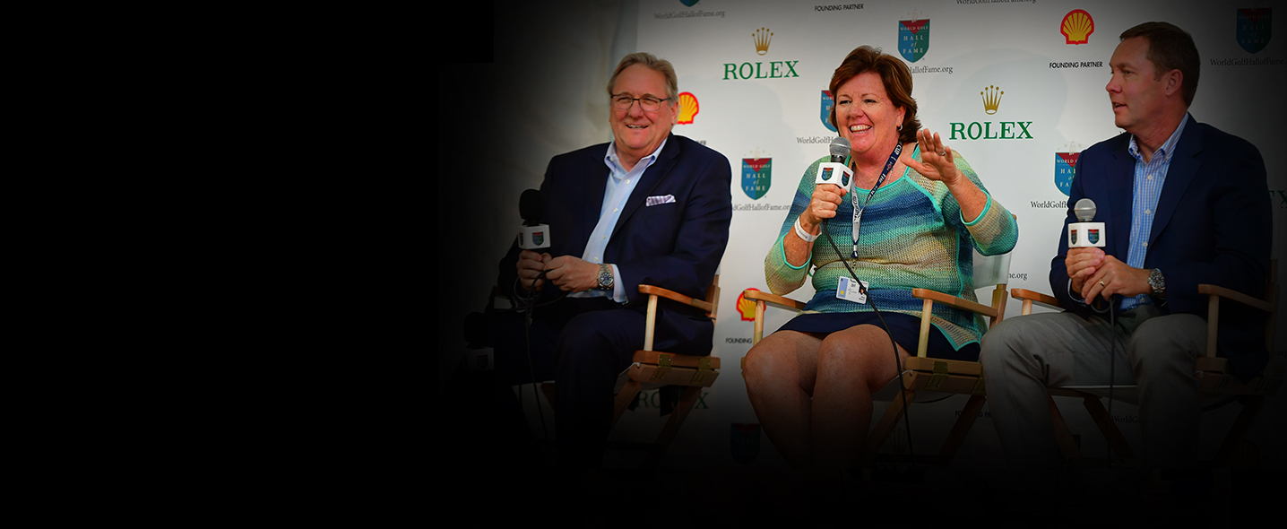 Meg Mallon celebrated as a 2017 Inductee at the ANA Inspiration