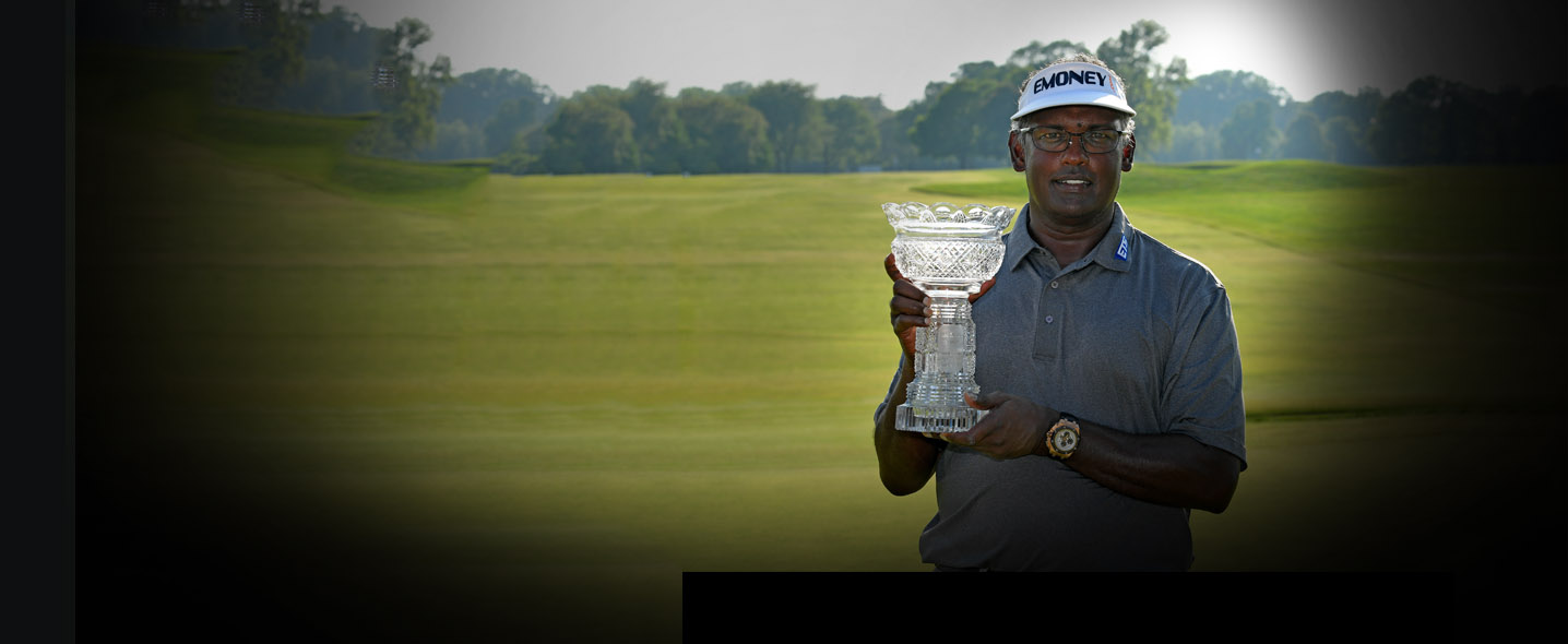 Captures His First Senior Major Championship