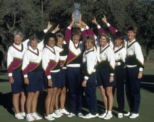 The United States Team Win The Solheim Cup