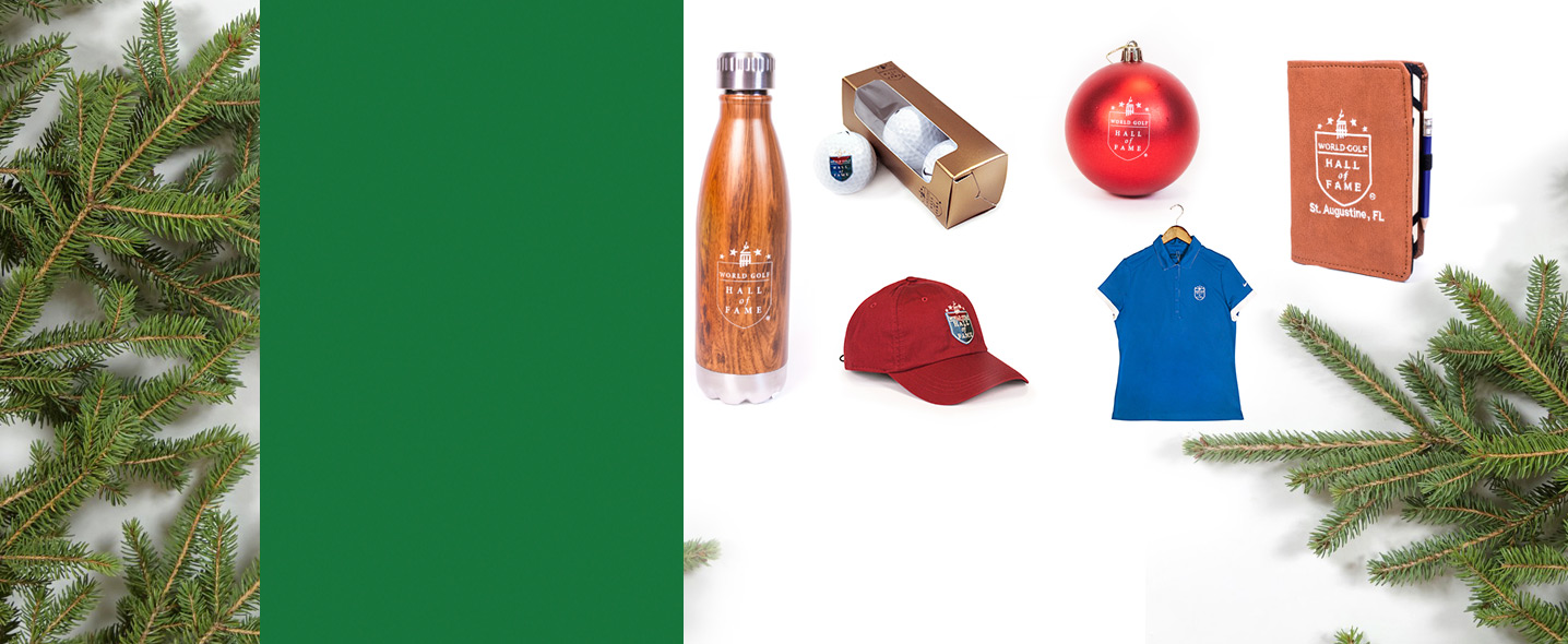Give something you know they'll love this year from the World Golf Hall of Fame